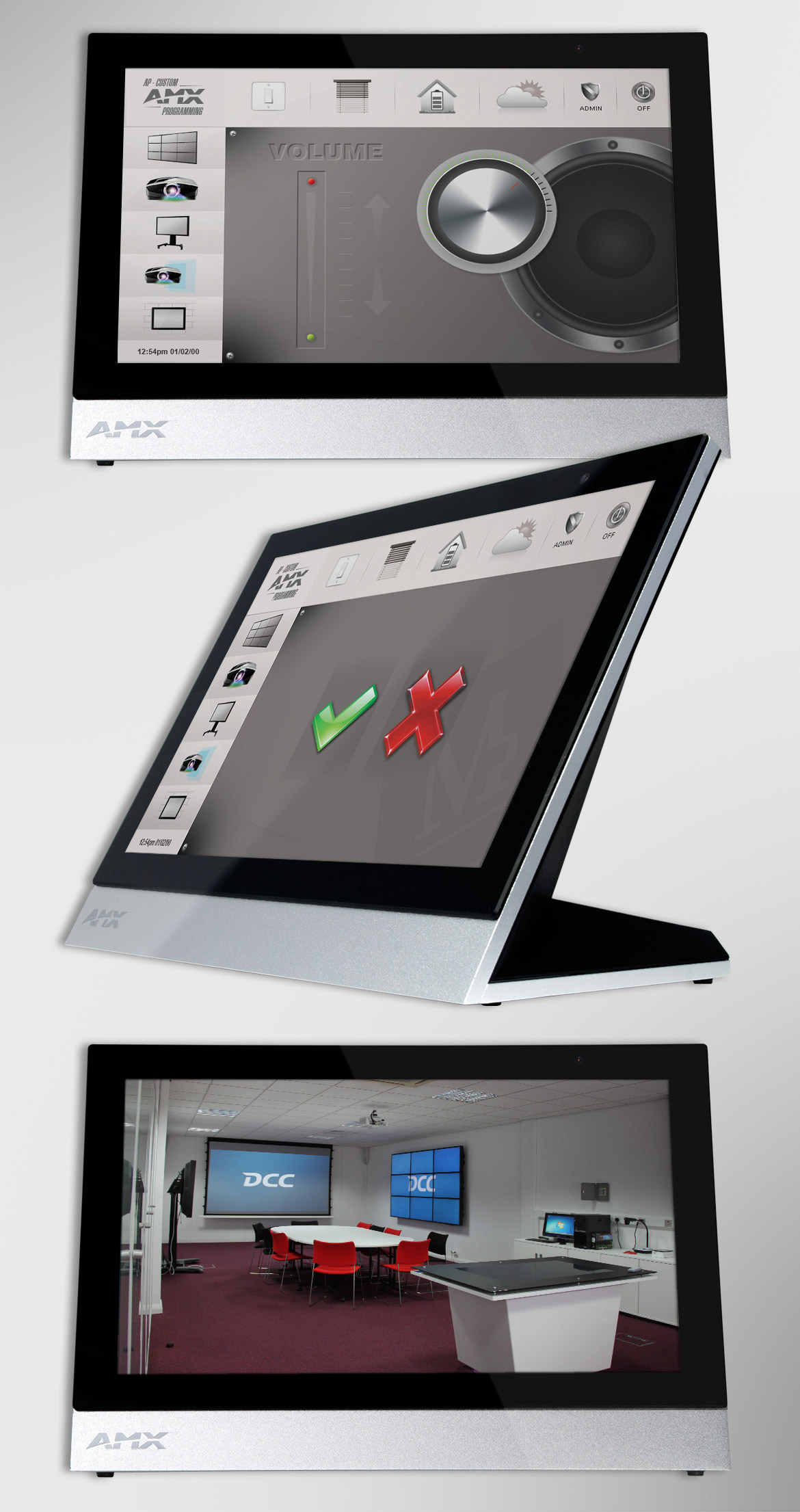 User Interface Design for Touch Screen Control Panels