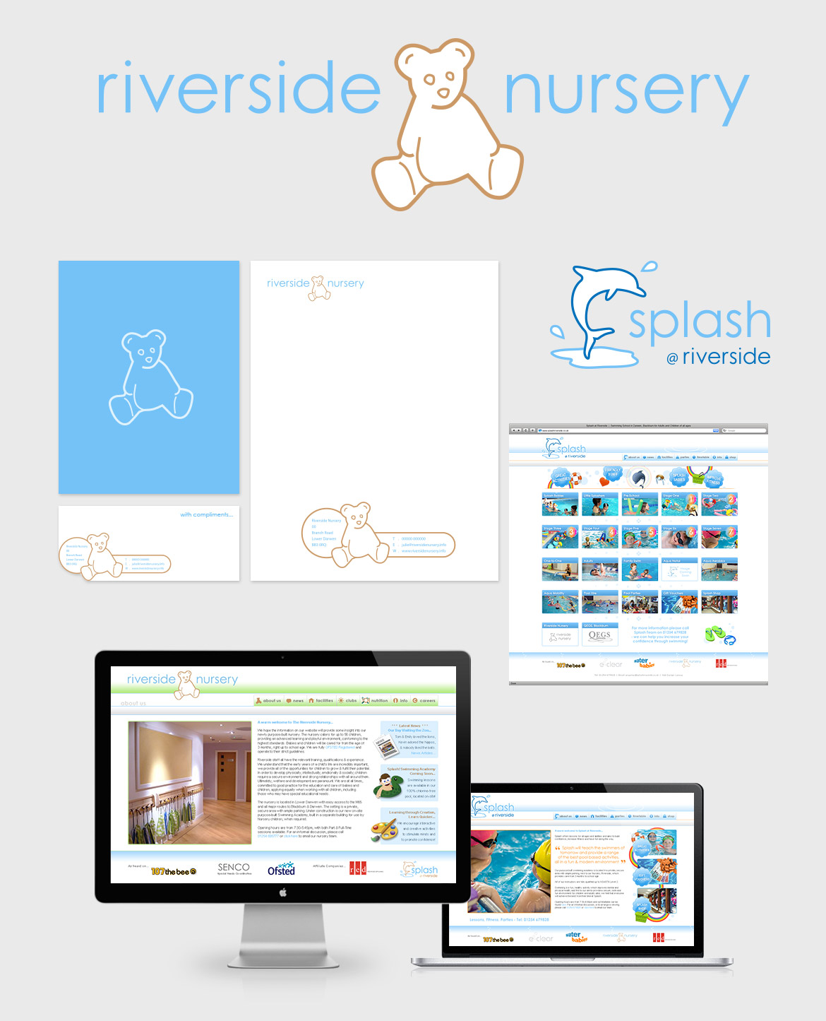 Riverside Nursery & Splash - Branding & Web Design